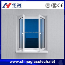 White Energy Efficient out swing opening pvc hand-crank casement window