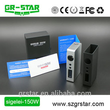New Design Wholesale China Alibaba sigelei 150w box with CE&RoHS approved