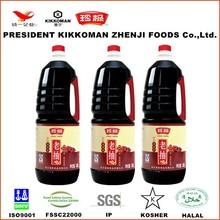 Natural fermented private label 1.8L dark soy sauce