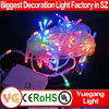 CE ROHS approveded 10 m 100 leds warm white led chasing christmas light arch color changing led christmas lights