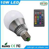 10W RGB LED Q6 Cool Changing Christmas light Replacement Bulbs