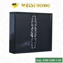2015 Cheap Chinese furniture black color 2.65*2.2m bedroom wardrobes with 2 slidng doors in Foshan furniture market