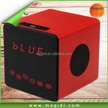 mp3 player 2015 box speakers Mini active wirless bluetooth speaker super bass portable speaker with led display