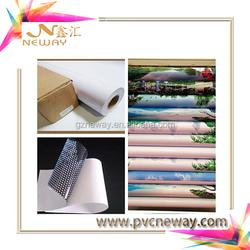 Vinyl self adhesive for eco-solvent printing /adhesive transparent film 1.27/1.52*50m
