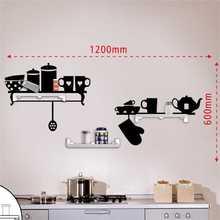 Mensola da cucina, mensola autoadesivo della parete fai da te / cremagliera all'ingrosso mensola a buon mercato