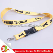 Factory direct sale lanyard plastic buckle