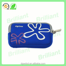 protective silk printing logo soft neoprene camera case