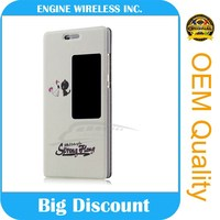 high quality alibaba china smart cover case for huawei ascend mate 7 ,100% original new