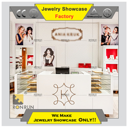 Jewelry furniture jewellery store design interior design in casual style