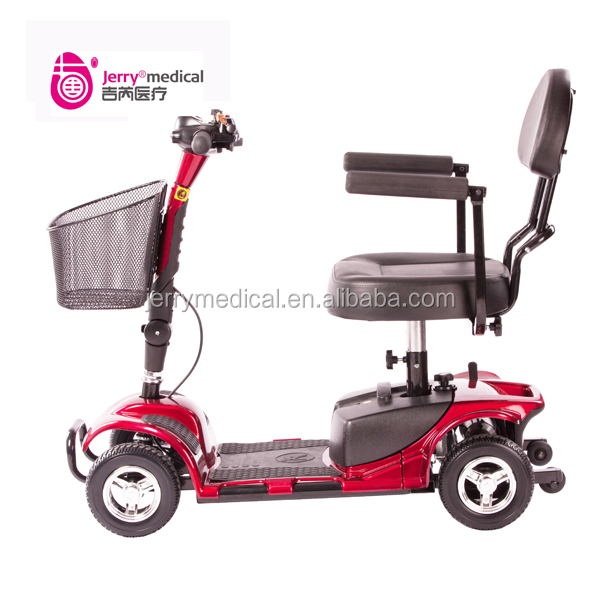 Portable 4 wheel scooter electric for elderly people buy for Motorized scooters for elderly