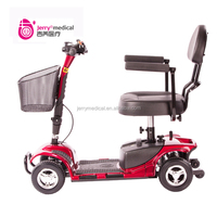 Portable 4 wheel scooter electric for elderly people