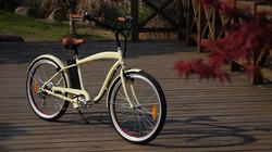 nice looking electric beach cruiser bike motorbike with lithium battery 250W 36V