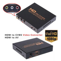 HD Video Converter HDMI to AV Converter adapter for set top box XBOX360 PS3