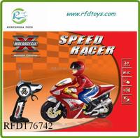 Motorcycle remote model radio control plastic rc motorcycle