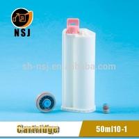 50ml 10:1 PBT Dental polyurethane foam tube /cartridge tubes caulk silicone sealant caulking tube