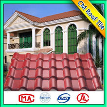 China made PMMA/ASA synthetic resin roof tile