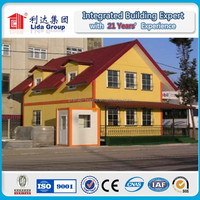 Manufactoure preab container house,steel framing villa,EPS Sandwich panel prefab home