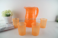 Eco-friendly colorful plastic water pitcher/jug with high quality