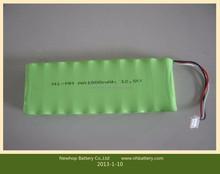 China battery manufacturer 14.4v 800mah aa nimh rechargeable battery pack for Solar lights