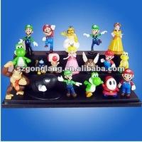 "Super Mario Bros 1.5~2.5"" Lot 18 pcs Action Doll PVC Figure Toy"