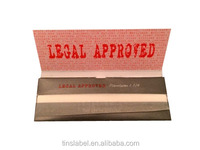 rolling paper Premium 1 1.4 LegaL Approved ultra thin tobacco rolling paper with arabic gum roll you own