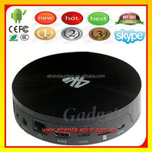 open Set Top Box Android 4.4 Jelly Bean A9 Amlogic S802 Quad Core 1080p 3D WiFi Android TV Box