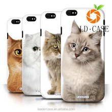 New Cute Painting Hard Cover Back Case cartoon mobile phone cover for Apple iPhone 6/6S/Cute Kittens