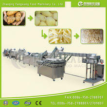 WP-1000 Potato French Fries Machine, washing peeling cutting weighing packing Production Line ..............Nice!
