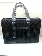 Woven leather laptop bag for men wholesale Australia