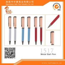 Red Roller pen novelty gift pens twist clip for logo printing