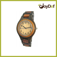100% natural wooden watch with high quality and fast delivery time,custom logo watch
