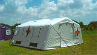 Best quality giant inflatable medical tent for military use