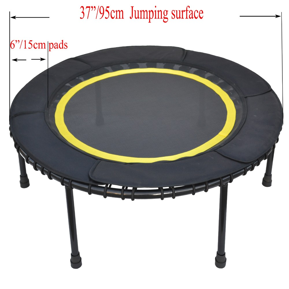 Mini indoor fitness trampoline with protection view - Protection trampoline ...