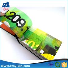 Production a3 magezine printing bulk book printing