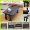 nuevo 2015 desmontables diseño extensible mesa de café