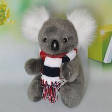 2015 Hot sale plush koala toys with scarf Export to Australia