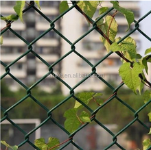 High quality chian link fence and gates manufacturer/strong hurricane fence