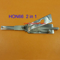 Original Lishi HON66 2 In 1 lock pick and decoder for car key genuine locksmith tools