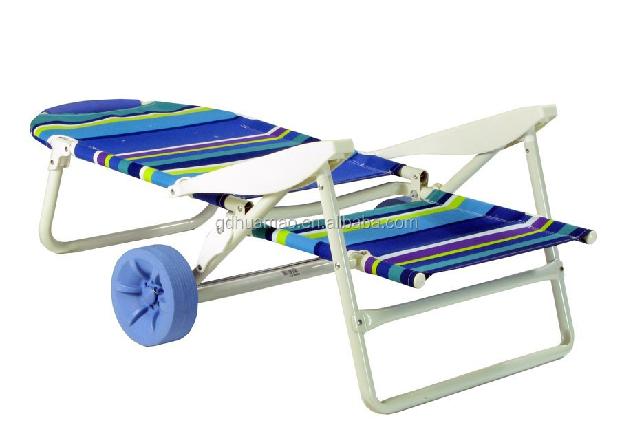 Folding beach chair with wheels buy beach chair beach cart beach wagon product on alibaba com