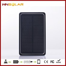 OEM/ODM custom universal solar charger with 4000mah for mobile phone
