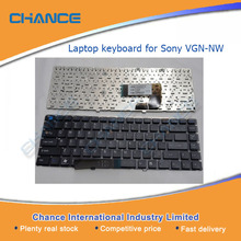 Original Notebook keyboard / Laptop parts: Laptop keyboards for Sony Vaio VGN-NW Black US