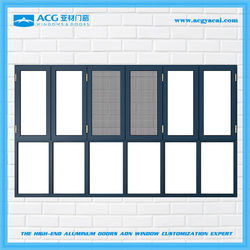 Best selling 2015 new design large high end aluminum window