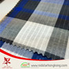 2015 Collection Coblat Blue Grey Large Checks Fabric