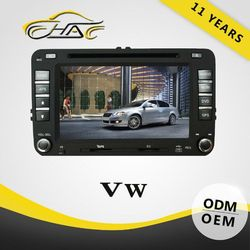 OEM ODM Special Touch Screen DVD Player For VW Passat B6 With GPS Navigation/Rearview Camera/Bluetooth/SWC