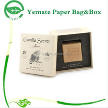 Paper Box Factory! custom colorful print popular eyecatching design recyclable cardboard gift soap carton box packaging