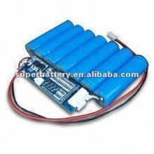 Backup power 25.9V 2200mAh 18650 Lithium -ion rechargeable battery from Shenzhen
