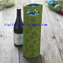 wool felt wine bags reuse wine bags