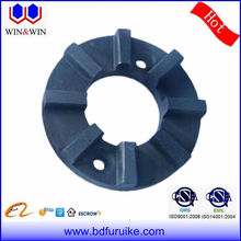 Submersible pump slide bearing carbon bearing