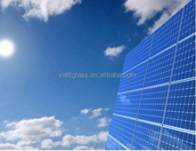 specialized in solar glass Low Iron tempered solar glass panel Toughened Solar Glass price