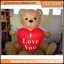valentines day decorations giant inflatable teddy bear for event for sale